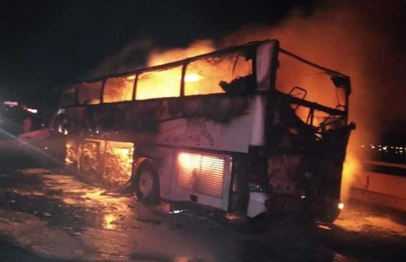 Автобус с паломниками разбился в Саудовской Аравии: как минимум 35 человек погибли