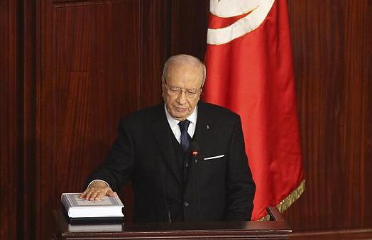 Состоялась церемония прощания с президентом Туниса