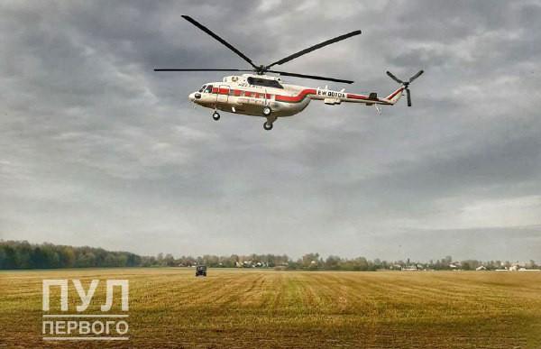 Лукашенко с рабочей поездкой посетил Слуцкий район