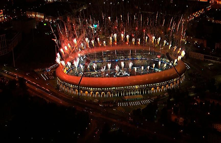 Церемония открытия II Европейских игр. Вспоминаем, как это было