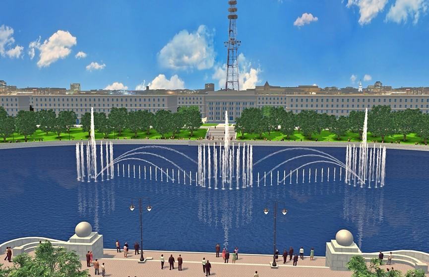 Светомузыкальный образовательный фонтан построит Сбербанк в Минске