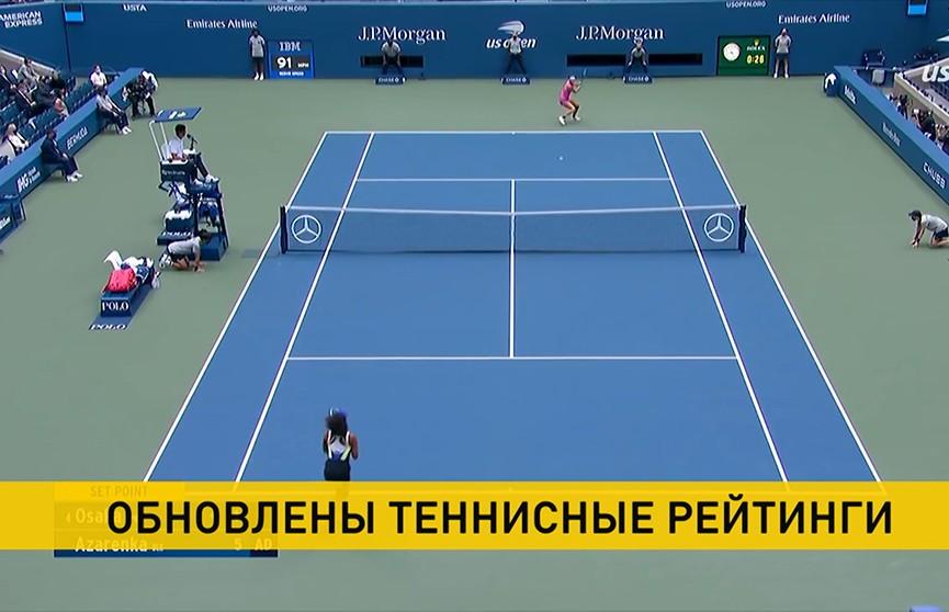 Обновлены традиционные теннисные рейтинги: Арина Соболенко на 12-й позиции