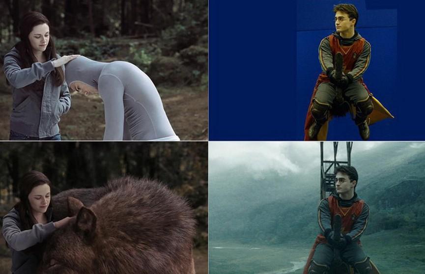 5 популярных сцен из фильмов до и после спецэффектов