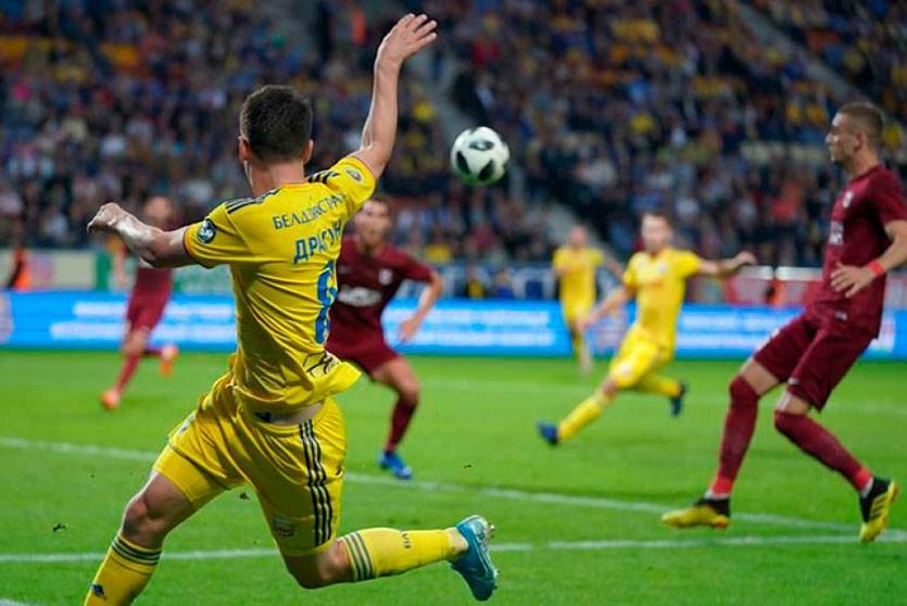 БАТЭ вышел в плей-офф квалификации Лиги Европы