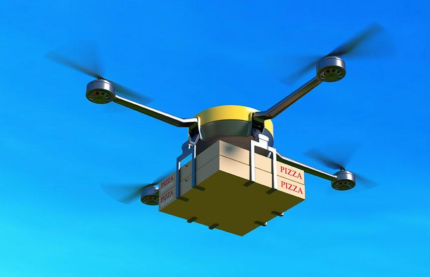 Компания Uber намерена запустить сервис доставки еды дронами