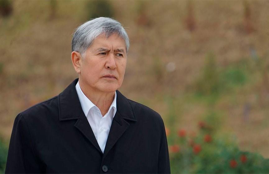 Спецназ штурмовал резиденцию экс-президента Кыргызстана Атамбаева