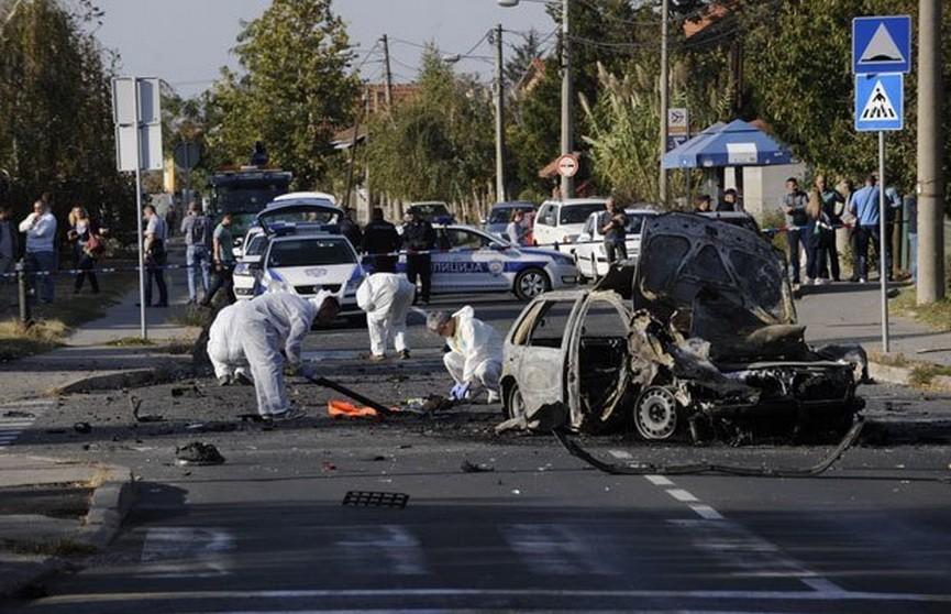 В Белграде взорвали автомобиль известной сербской телеведущей