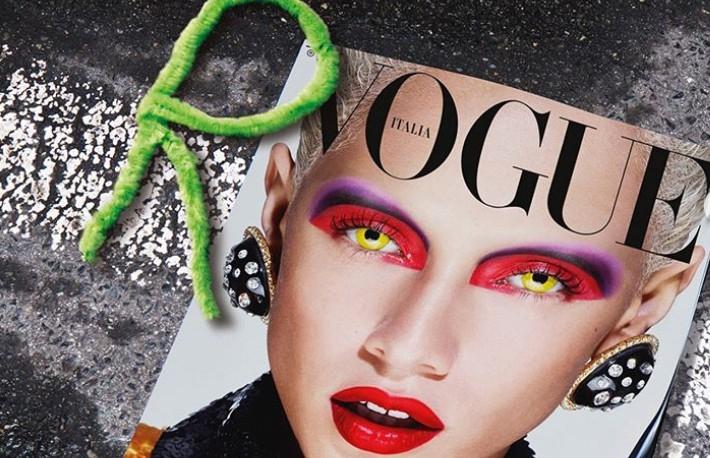 Итальянский Vogue впервые выйдет с белой обложкой из-за уважения к врачам