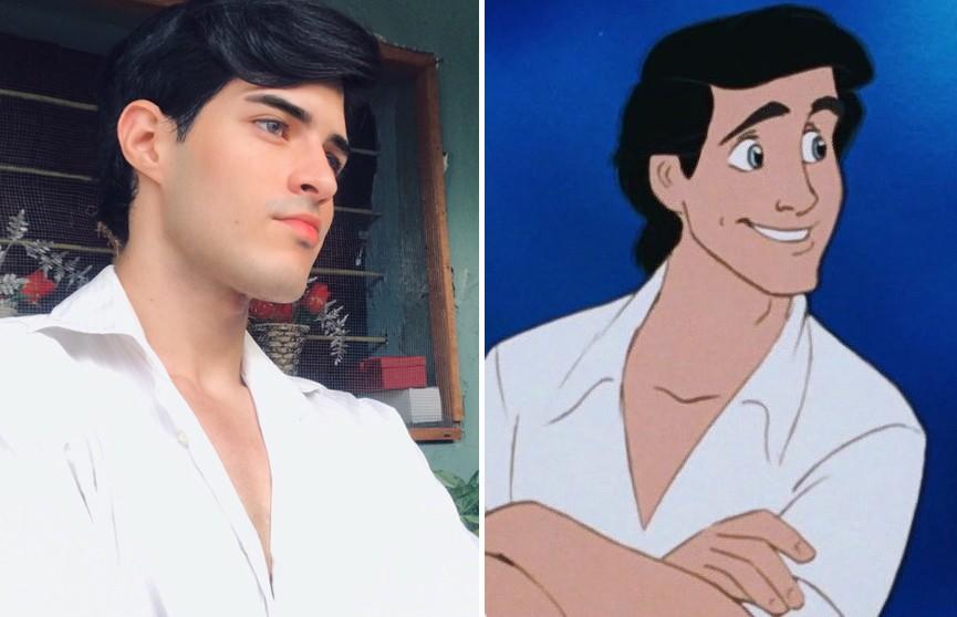 Двойники принцев Disney и Спанч Боба: пользователи Twitter сравнивают себя с персонажами мультфильмов