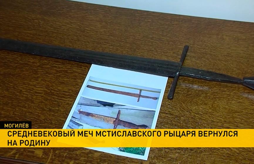 Уникальный меч, найденный в Беларуси «чёрными копателями», едва не ушёл с молотка на Западе