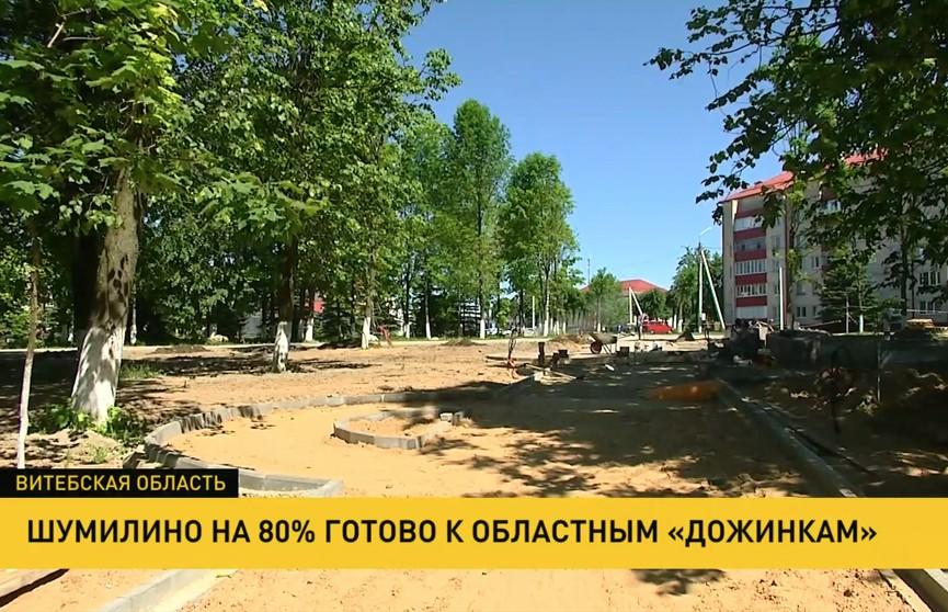Шумилино на 80% готово к областным «Дожинкам»