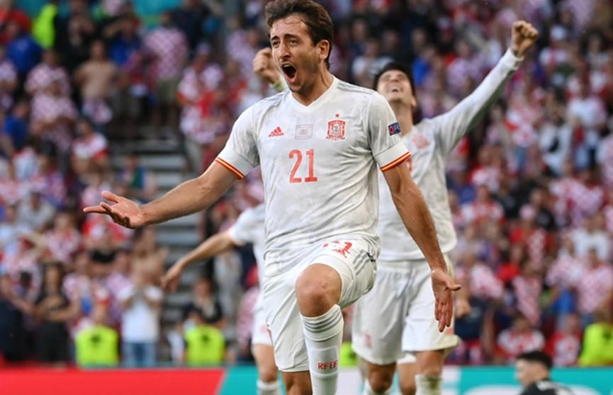 Сборная Испании не без проблем победила команду Хорватии и вышла в 1/4 финала Евро-2020