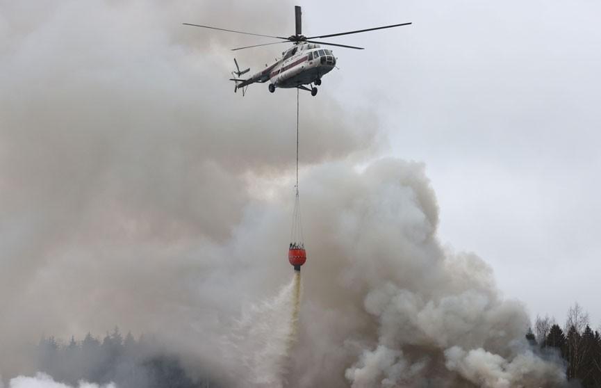 Белорусские спасатели помогут в тушении пожаров в Турции