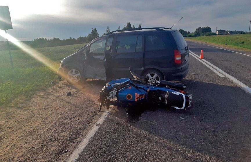 ДТП с участием мотоциклиста в Оршанском районе закончилось смертью