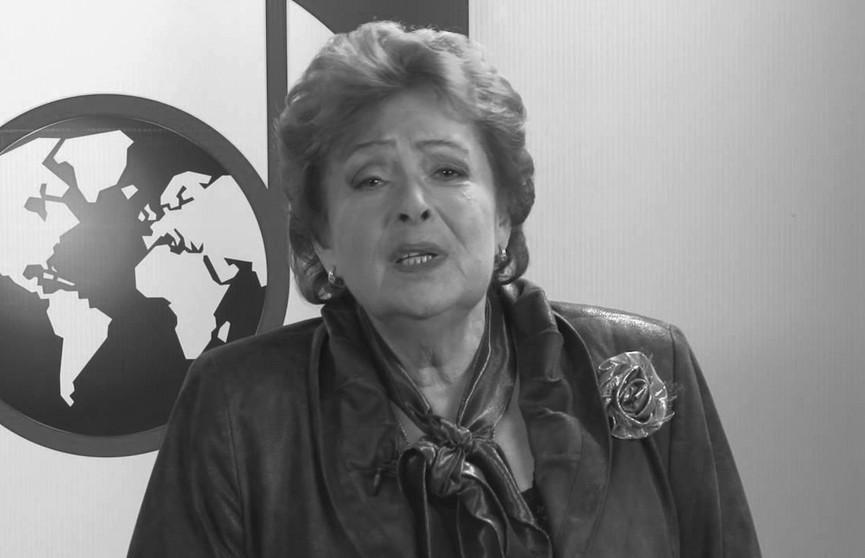 Умерла певица Алла Иошпе