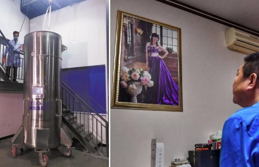 Китаец на 50 лет заморозил умершую жену в надежде ее воскресить