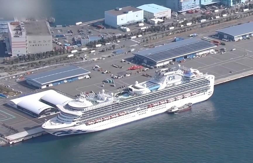Число зараженных коронавирусом на круизном лайнере в Японии увеличилось до 61 человека