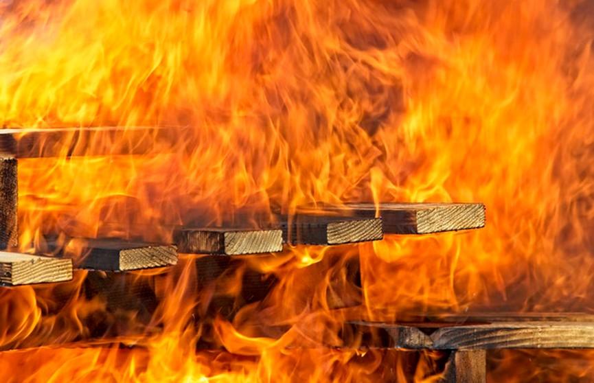 Пожар в Стародорожском районе: две женщины погибли