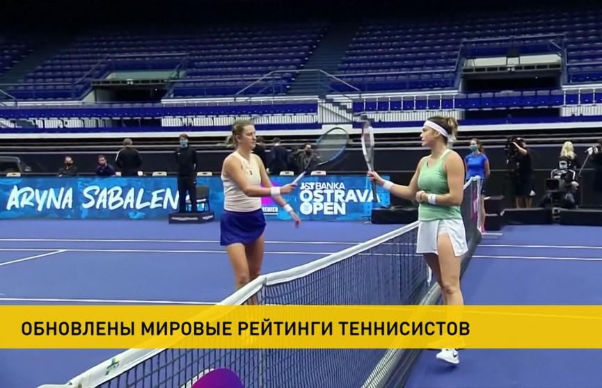 Обновлен рейтинг WTA: Соболенко и Азаренко сохранили свои позиции