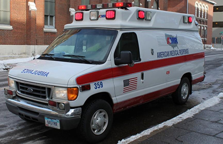 Авария с участием пассажирского автобуса произошла в США