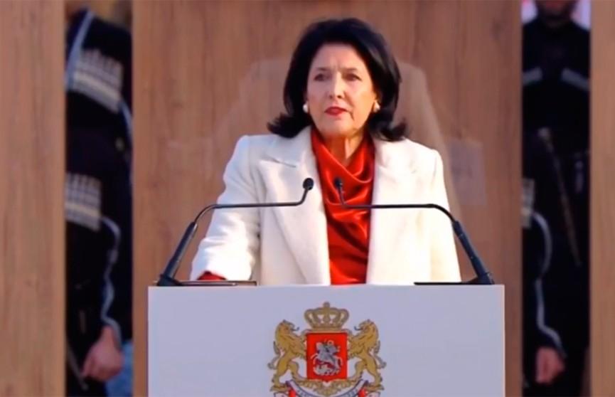 Церемония инаугурации  президента Грузии Саломе Зурабишвили прошла в Телави