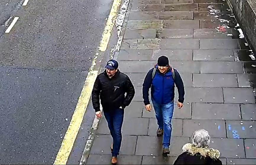 Дело Скрипалей: Великобритания назвала имена подозреваемых