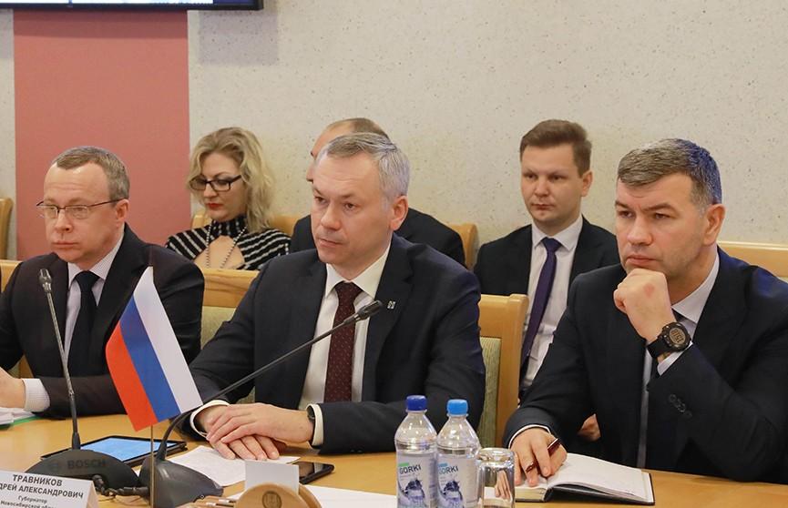 Делегация Новосибирской области находится с визитом в нашей стране