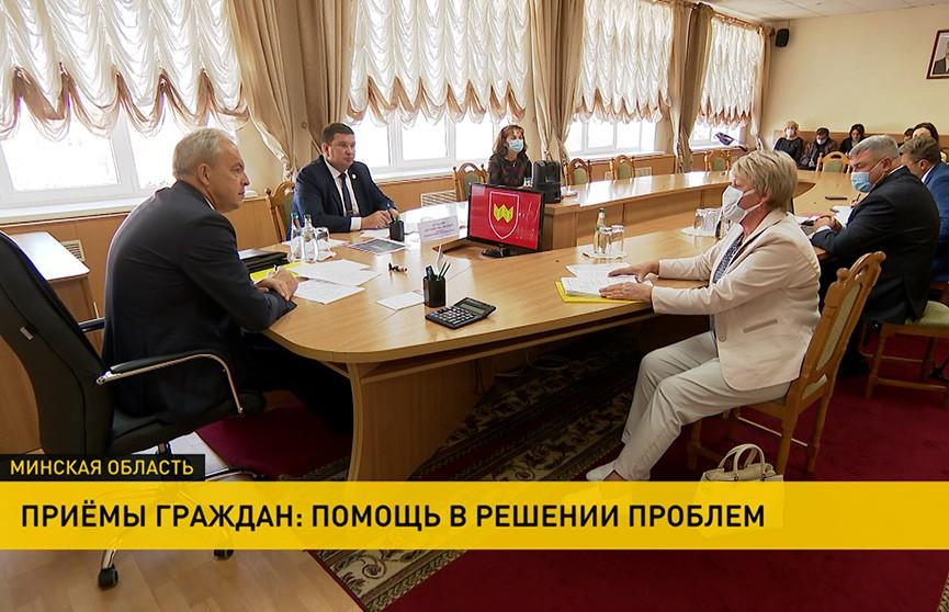 Глава Администрации Президента посетил Воложинский район. С какими обращениями приходили граждане?