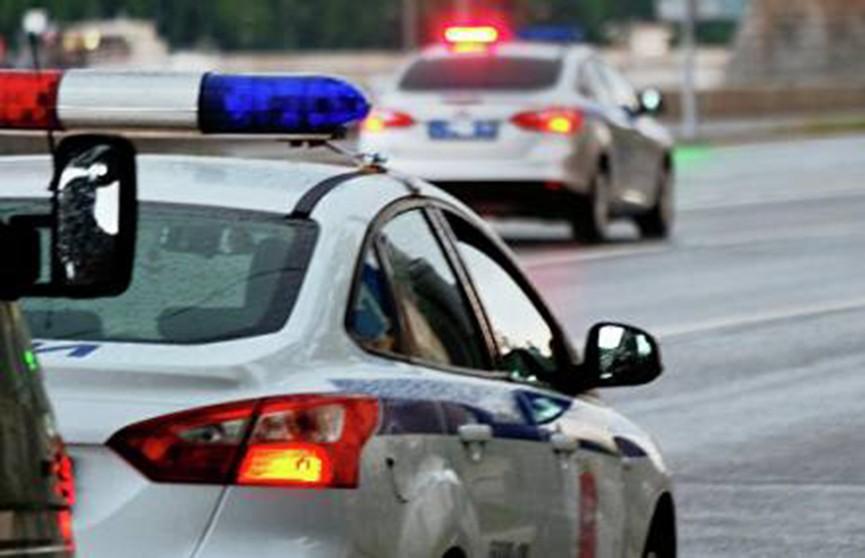 Десять автомобилей столкнулись на МКАД в Москве