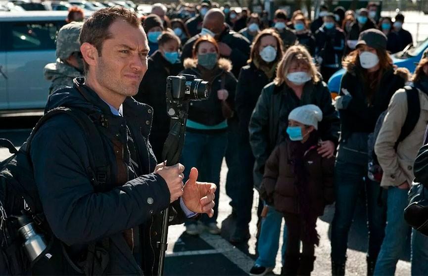 Джуд Лоу: эксперты предсказывали пандемию во время съемок «Заражения»