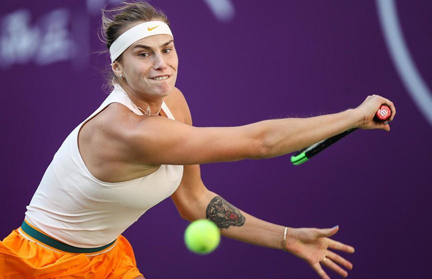 Арина Соболенко обыграла американку Софью Кенин в Цянцзине