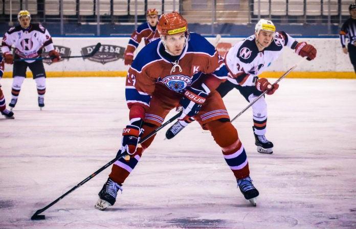 Хоккеисты столичной «Юности» вышли вперёд в финальной серии чемпионата Беларуси