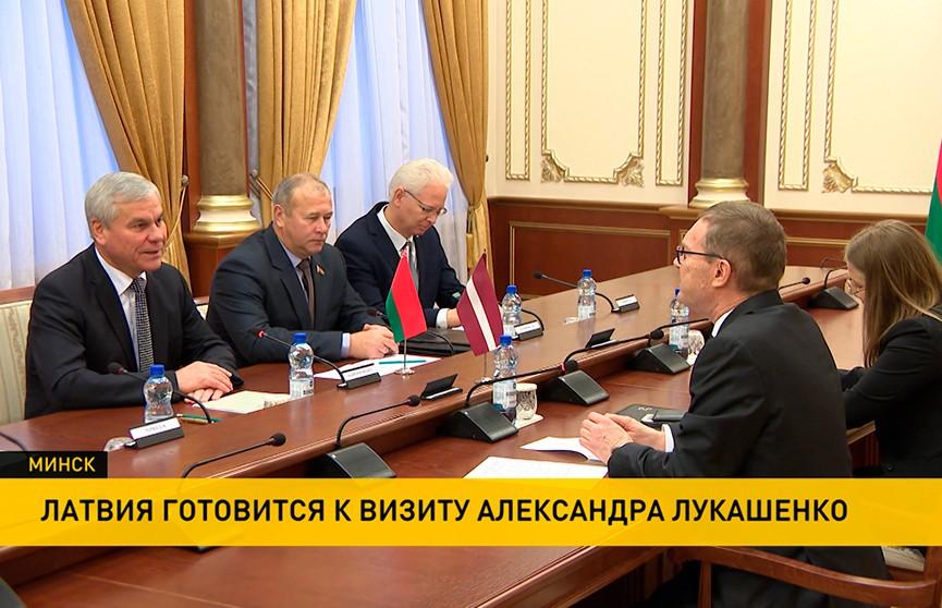 В Палате представителей обсудили подготовку визита Лукашенко в Латвию