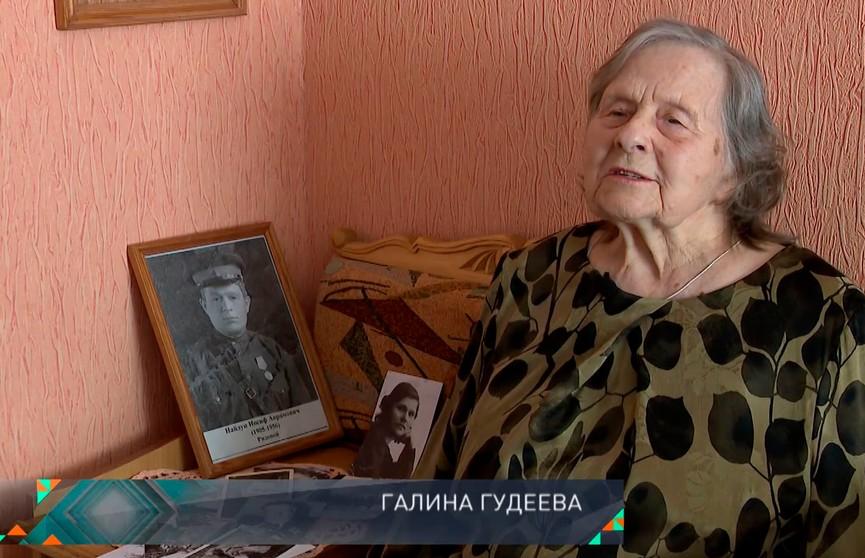 «Наши герои». Галина Гудеева в 10 лет прошла 20 км, чтобы передать важную записку связной партизанского отряда