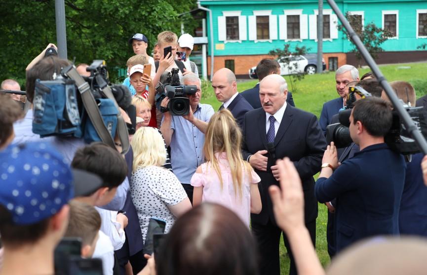 Лукашенко о событиях вокруг Белгазпромбанка: Надо – сядут! Перед законом все равны!