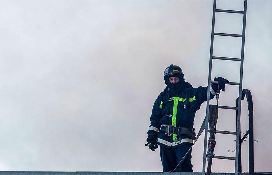 В Москве загорелся дом престарелых. Два человека погибли