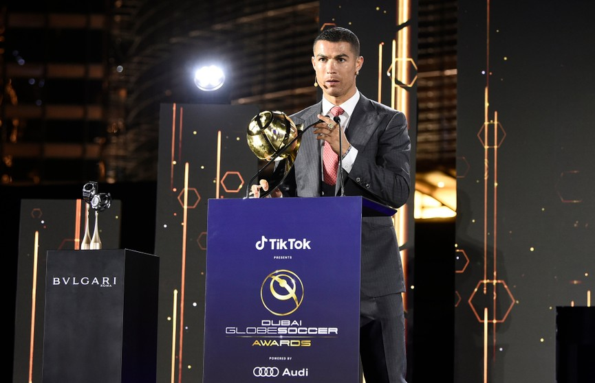 Криштиану Роналду признан лучшим игроком XXI века по версии Globe Soccer