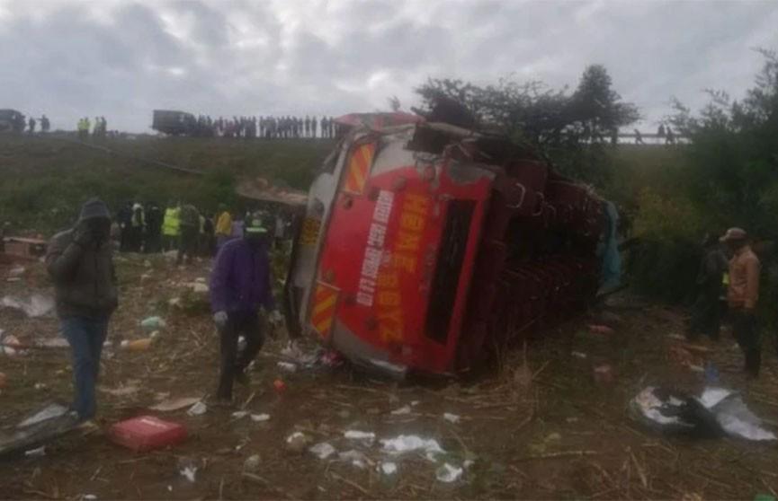 Крупная авария в Кении унесла жизни более 40 человек