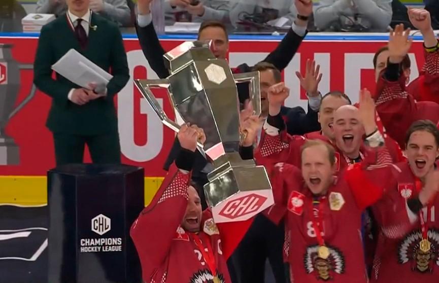 Шведская «Фрёлунда» в третий раз выиграл хоккейную Лигу чемпионов