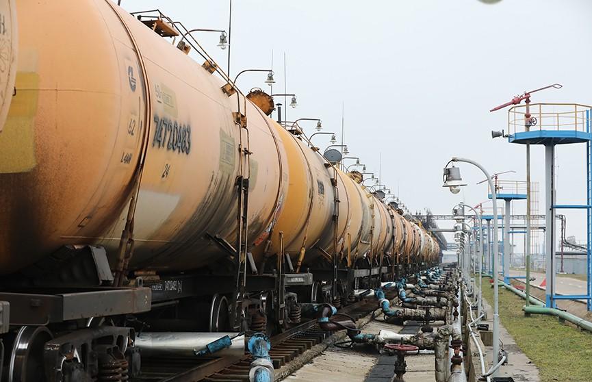 Из порта Клайпеды на белорусские заводы отправилась новая партия нефти