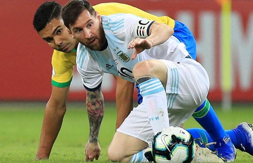 И Месси не помог: Аргентина уступила Бразилии (0:2) в полуфинале Кубка Америки по футболу
