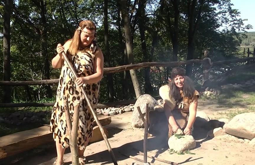 Древнейшую стоянку первобытного человека в Гомельской области превратили в музей под открытым небом