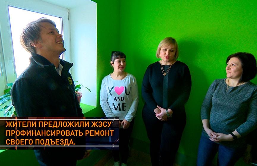 В Березовке жители многоэтажки сделали в подъезде ремонт по схеме софинансирования. Что из этого вышло? Рубрика «Тур по Беларуси»