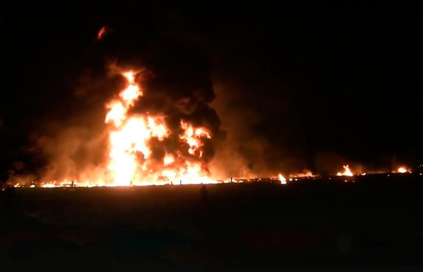 Ещё один взрыв прогремел на трубопроводе в Мексике