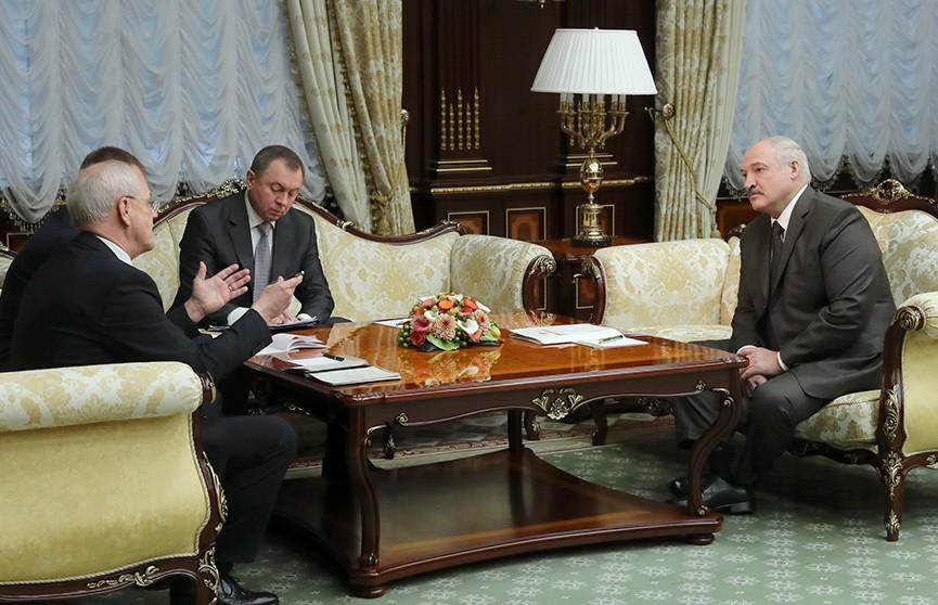 Александр Лукашенко провёл встречу с послом Германии Петером Деттмаром