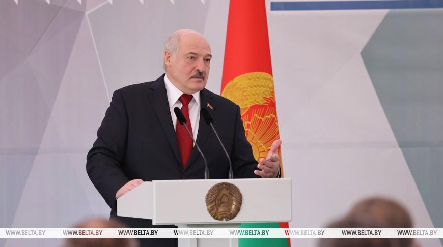 Лукашенко принял участие в торжественной церемонии ввода в эксплуатацию Петриковского ГОК