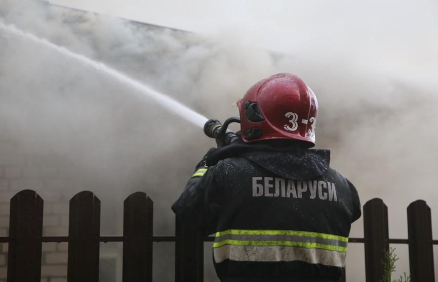 Пожар в Дрогичинском районе. Погибли два человека