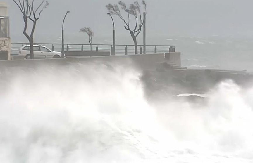 Зимний ураган «Эльза» пришел в Европу