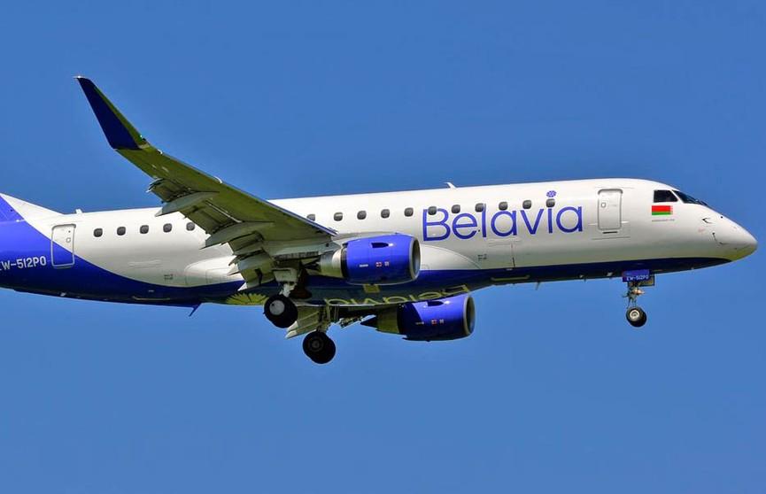 Авиапарк «Белавиа» пополнился двумя новыми Embraer