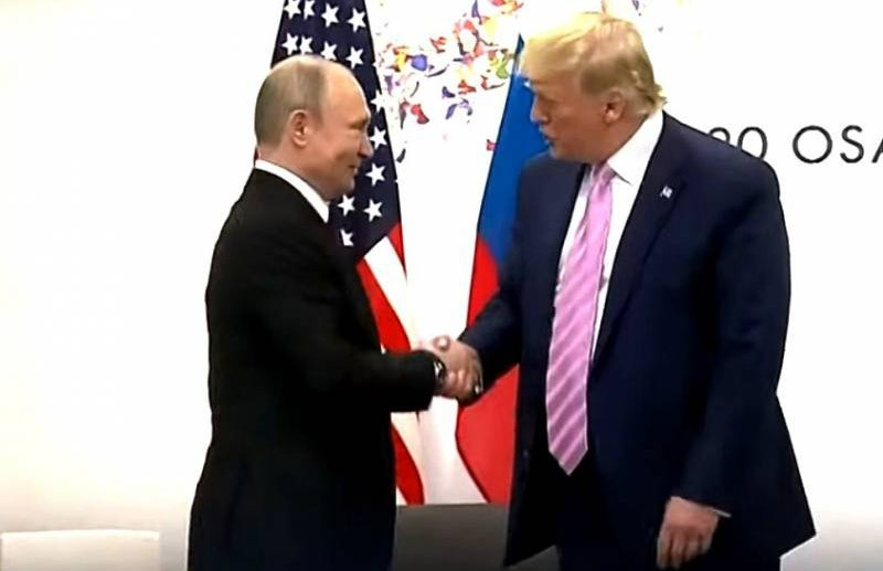 Трамп назвал Путина «необычайным человеком»